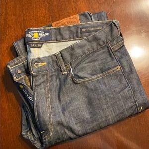 Men's 361 vintage straight dark denim jeans